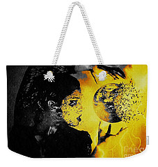 The World Is Mine Weekender Tote Bag by Jessica Shelton