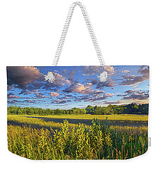 The World Is Quiet Here Weekender Tote Bag by Phil Koch