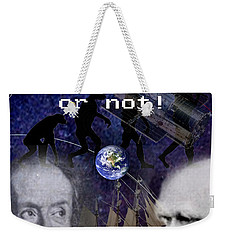 The World Is Round Weekender Tote Bag