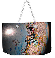 The World Is Your Playground Weekender Tote Bag