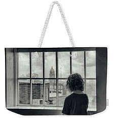 The World Outside My Window Weekender Tote Bag by Laurinda Bowling