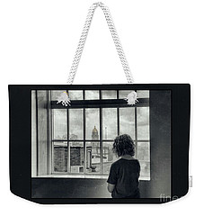 The World Outside My Window Number II  Weekender Tote Bag by Laurinda Bowling