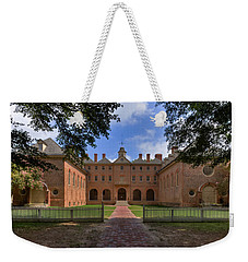The Wren Building At William And Mary Weekender Tote Bag