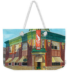 The Yellow Brick Bank Restaurant Weekender Tote Bag