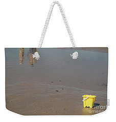 The Yellow Bucket Weekender Tote Bag
