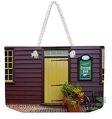 The Yellow Door In Annapolis Weekender Tote Bag