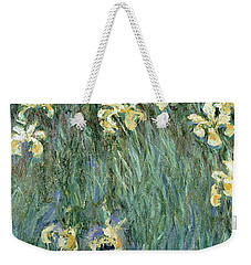 The Yellow Irises Weekender Tote Bag