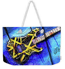 The Yellow Jacket_cropped Weekender Tote Bag by Gary Bodnar