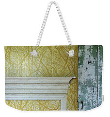 The Yellow Room No. 3 - Detail Weekender Tote Bag