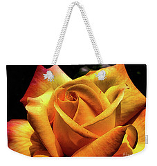 The Yellow Rose Weekender Tote Bag
