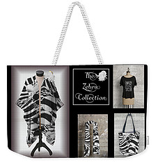 The Zebra Collection Weekender Tote Bag by Geraldine Alexander