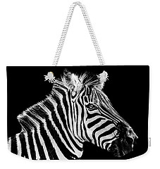 The Zebra Stripes Weekender Tote Bag