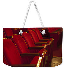 Theater Seating Weekender Tote Bag by Carolyn Marshall