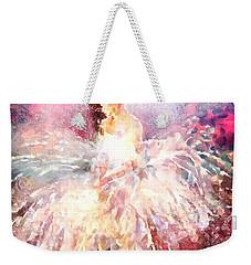 thebroadcastmonkey Painting Weekender Tote Bag
