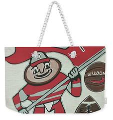 Thee Ohio State Buckeyes Weekender Tote Bag