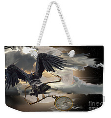 Theft Of Time  Weekender Tote Bag