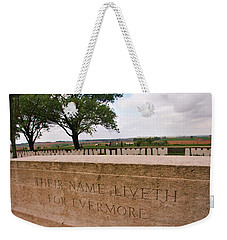 Their Name Liveth For Evermore Weekender Tote Bag by Travel Pics