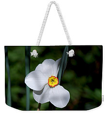 #themysteryinlovewithitself Weekender Tote Bag by Becky Furgason