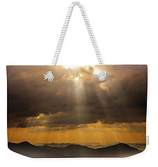 Weekender Tote Bag featuring the photograph Then Sings My Soul by Karen Wiles