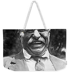 Theodore Roosevelt Laughing Weekender Tote Bag