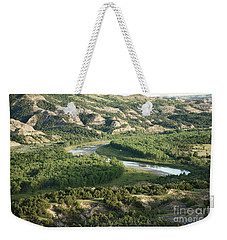 Theodore Roosevelt National Park - Oxbow Bend Weekender Tote Bag