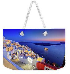 Thera Sunset  Weekender Tote Bag