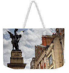 There Be Dragons In London Weekender Tote Bag