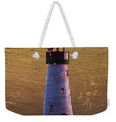 Weekender Tote Bag featuring the photograph There Is A Lighthouse by B Wayne Mullins