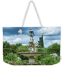 There Is An Island In Your Garden Weekender Tote Bag