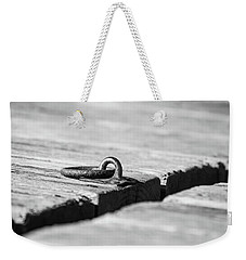 Weekender Tote Bag featuring the photograph There by Karol Livote