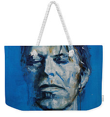 There S A Starman Waiting In The Sky Weekender Tote Bag