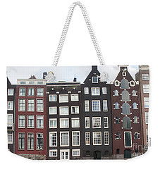 Weekender Tote Bag featuring the photograph There Was A Crooked House by Therese Alcorn