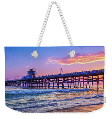 There Will Be Another One - San Clemente Pier Sunset Weekender Tote Bag