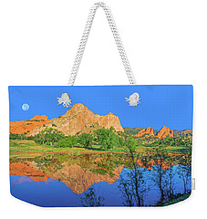 There's A Plenitude Of Awe-inspiring Rock Formations In Colorado.  Weekender Tote Bag by Bijan Pirnia