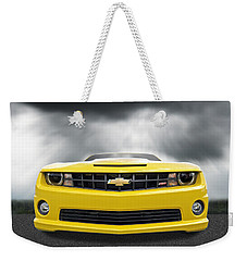There's A Storm Coming - Camaro Ss Weekender Tote Bag