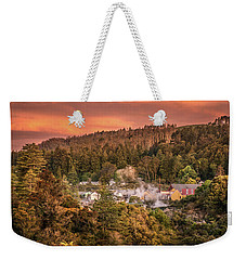 Thermal Village Rotorua Weekender Tote Bag