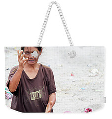 Weekender Tote Bag featuring the photograph These Hands Have Toiled More Than You Could Imagine by Jez C Self