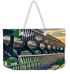 Weekender Tote Bag featuring the photograph These Teeth Mean Business by Mark Dodd