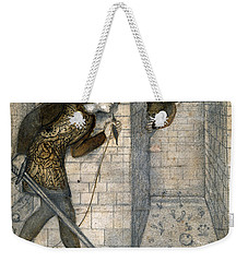 Theseus And The Minotaur In The Labyrinth Weekender Tote Bag