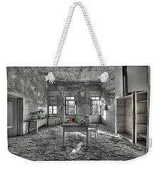 Weekender Tote Bag featuring the photograph They Are All Gone - Se Ne Sono Andati Tutti by Enrico Pelos