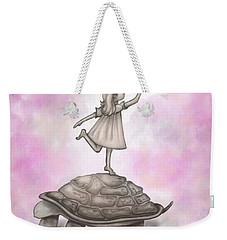 Butterfly Princess Weekender Tote Bag