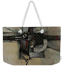 They Pushed By  Weekender Tote Bag