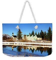 Weekender Tote Bag featuring the photograph Thingvellir Iceland  by Matthias Hauser