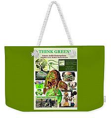 Think Green Weekender Tote Bag
