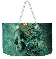Thinking Deep  Weekender Tote Bag