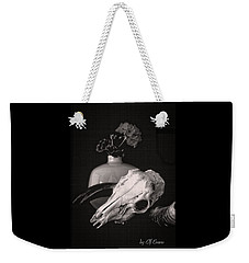 Weekender Tote Bag featuring the photograph Thinking Of Georgia O'keeffe by Elf Evans