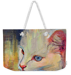 Thinking Of Mouse Weekender Tote Bag