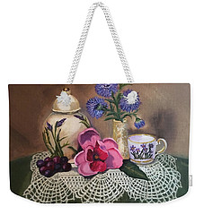 Thinking Of Tea  Weekender Tote Bag