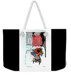 Thinking Of You No.7 Weekender Tote Bag