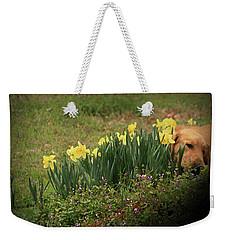 Thinking Spot Weekender Tote Bag by Kim Henderson